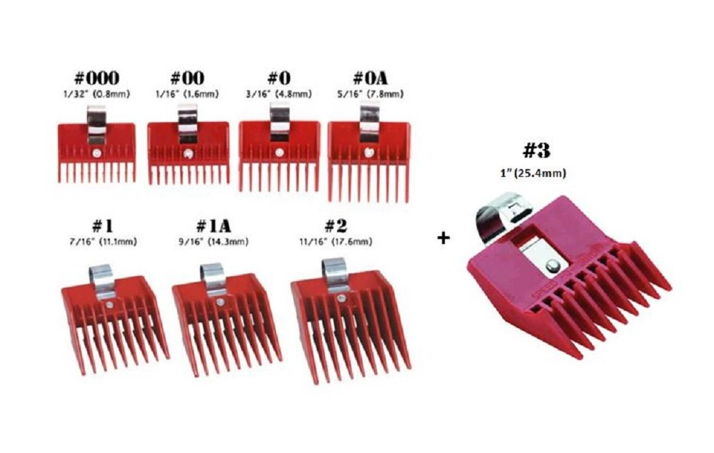 The Best Thing About Sd O Guide Is That They Have Such A Large Range Of Diffe Clipper Guard Sizes Many Barbers Will Them To Fill In Gap