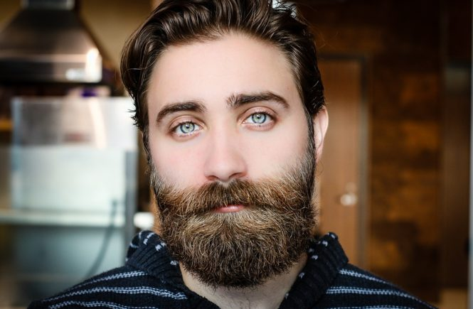 how to grow a full beard post - man with full manly beard