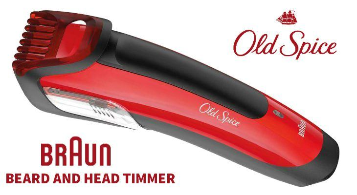 Old Spice waterproof Hair Clipper shower2