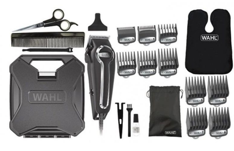 Items you will find in the wahl elite pro haircutting kit box set