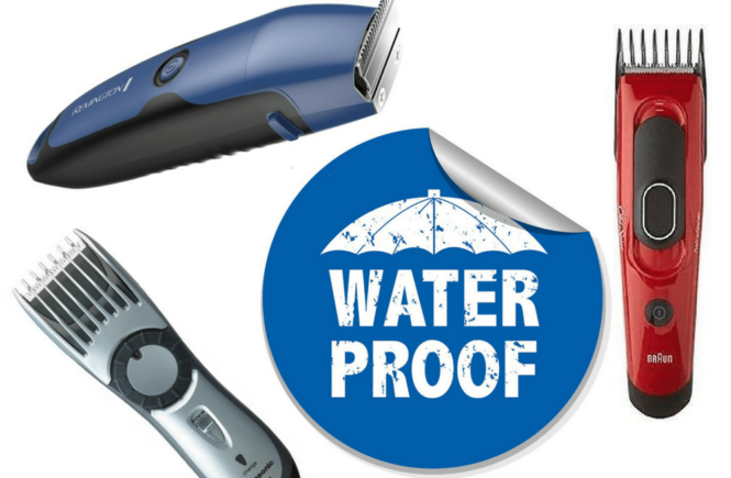 waterproof hair clippers shower heading banner