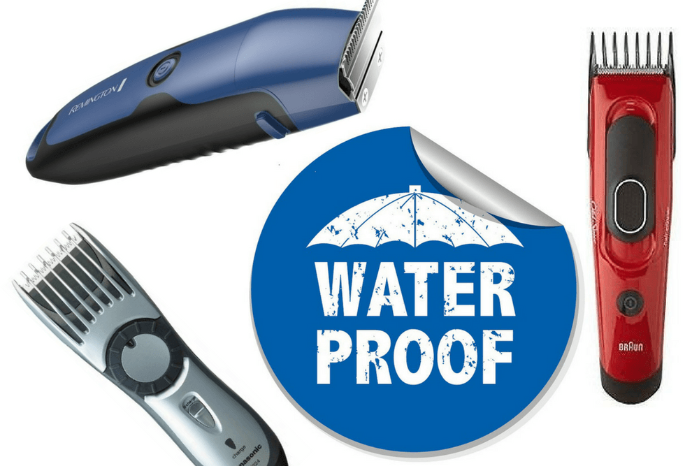 BEST WATERPROOF HAIR CLIPPERS AND TRIMMERS