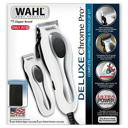 Wahl Chrom Pro Review - the boxed item