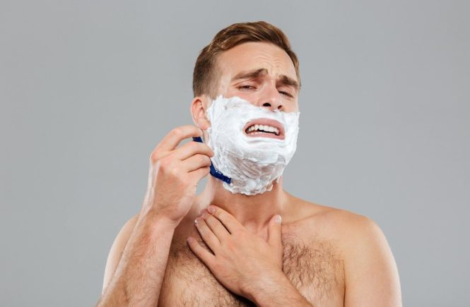 A step by step guide on how to prevent razor burn when shaving