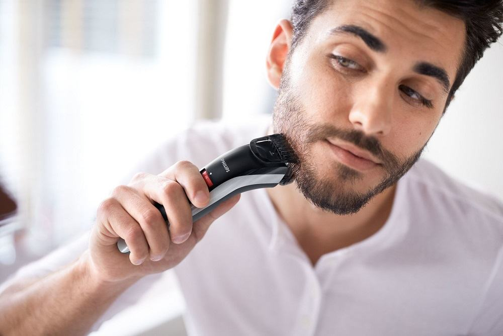 The Superior Beard And Mustache Trimmer Shown In Charger