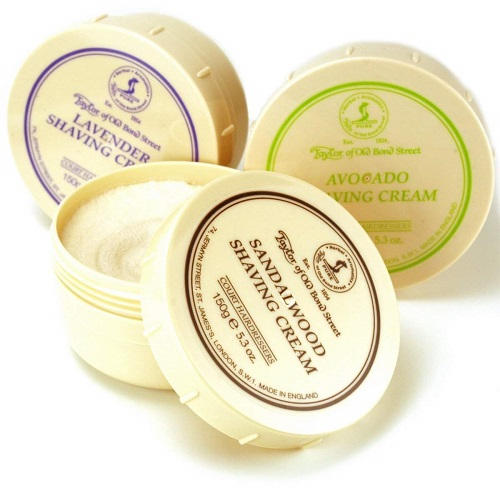 Taylor of Old Bond Street shaving cream is ideal for shaving sensitive area and the scalp