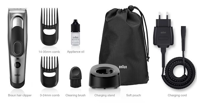 braun hair clippers